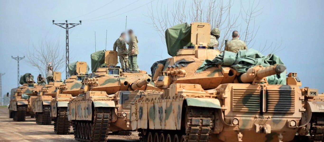 Συρία: Η Τουρκία στέλνει αναβαθμισμένα με αντιπυραυλικά συστήματα άρματα μάχης M60T1 στην Αφρίν (φωτό, βίντεο)