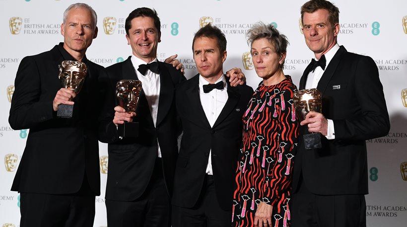 Bafta: Οι «Πινακίδες» του Μιζούρι κυριάρχησαν στα «φεμινιστικότερα» βραβεία της χρονιάς