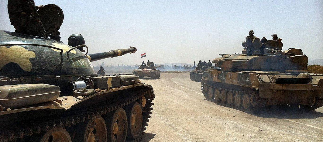 ΕΚΤΑΚΤΟ: Τα συριακά στρατεύματα εισήλθαν στην Αφρίν – Τάσσονται απέναντι στους Τούρκους