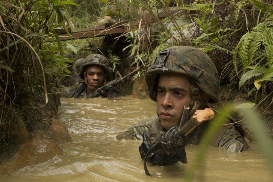 Πραγματικό Surviror: Αμερικανοί στρατιώτες εκπαιδεύονται να επιβιώνουν στη ζούγκλα