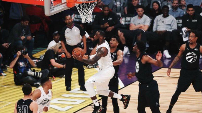 Γιορτή του μπάσκετ το All Star Game: Κρίθηκε στο νήμα με τον Γιάννη παρόντα