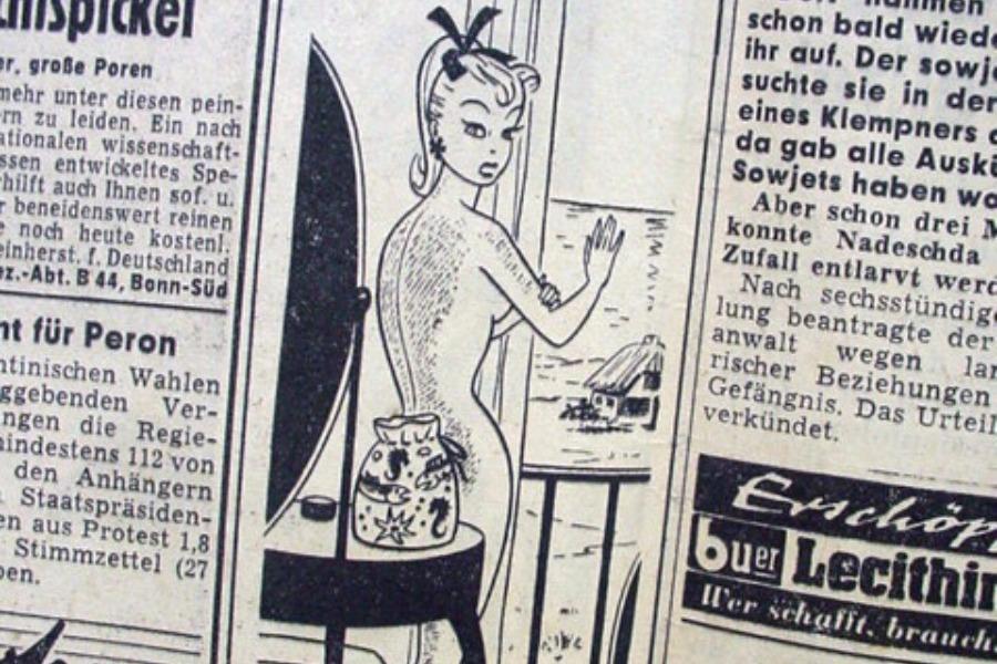 To call girl από τη Γερμανία που ενέπνευσε τους δημιουργούς της Βarbie