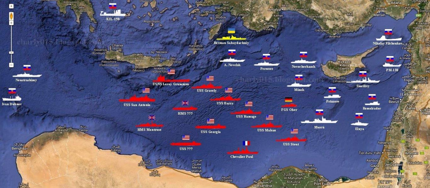 ΕΚΤΑΚΤΟ: Ρωσικά πυραυλοφόρα πλοία, υποβρύχια και στρατηγικά βομβαρδιστικά παίρνουν θέσεις μάχης για Συρία
