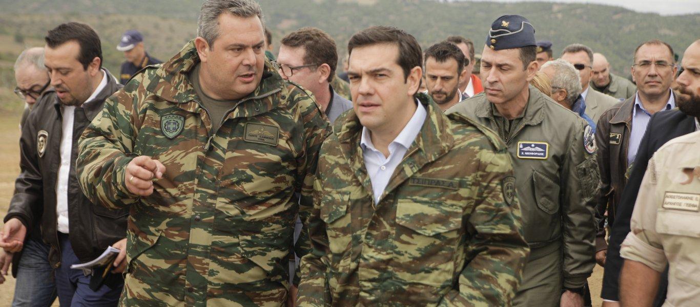 Ο ΥΕΘΑ Π. Καμμένος προετοιμάζει τους Έλληνες: «Η Ελλάδα βρίσκεται πολύ κοντά σε θανατηφόρο ατύχημα με Τουρκία»