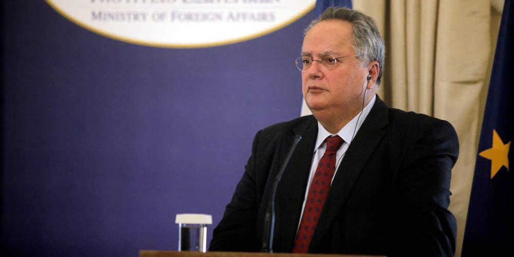 Κοτζιάς «καρφώνει» Ερντογάν: Οφείλει να σέβεται το διεθνές δίκαιο και να έχει φιλειρηνική πολιτική