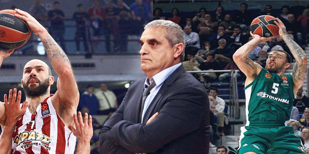Ο Αργύρης Πεδουλακης αναλύει για τον «Ε.Τ.» τους αγώνες Ολυμπιακού και Παναθηναϊκού για την Euroleague