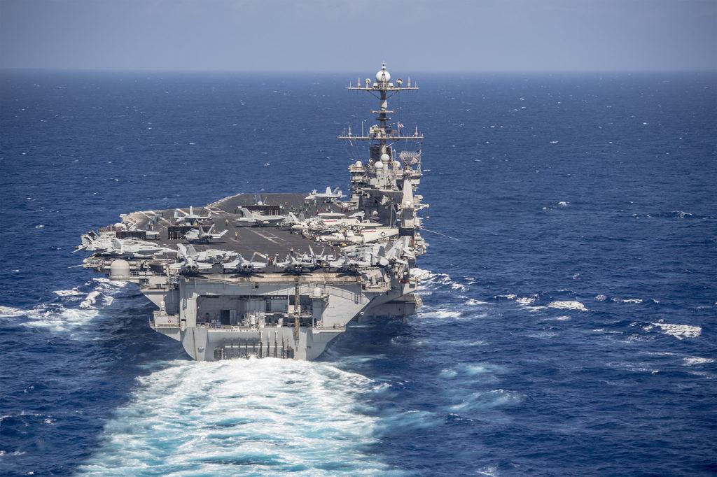 Οι ΗΠΑ θα ισοπεδώσουν χώρα: Στον αέρα ιπτάμενα στρατηγεία μαζί με 12 B-2/Β-12 και 12 KC-10/135 – Το USS Harry S. Truman εισήλθε Μεσόγειο