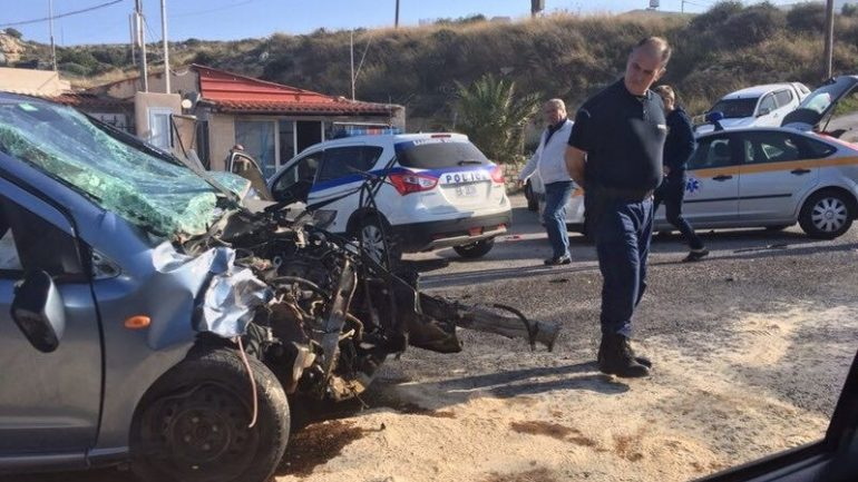 6 τραυματίες σε σύγκρουση οχημάτων