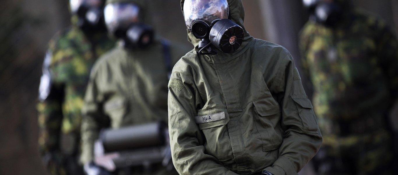 Τεράστια αποθήκη χημικών όπλων από αυτά που έπεσαν στην Ντούμα ανακάλυψαν σε σήραγγα των ισλαμιστών οι Ρώσοι