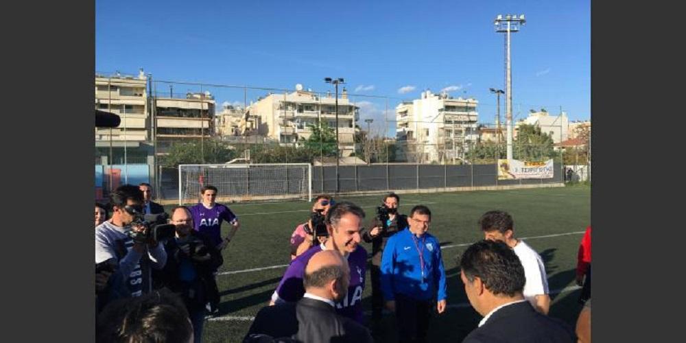 Παίζει μεγάλη μπάλα ο Κυριάκος: Σκόραρε δις σε φιλικό με ομάδα Ρομά
