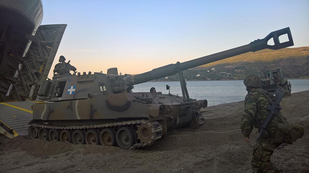 Τρομαχτική ισχύ πυρός «απλώθηκε» στο Αιγαίο – Σε ύψιστη ετοιμότητα ΠΝ και ΠΑ