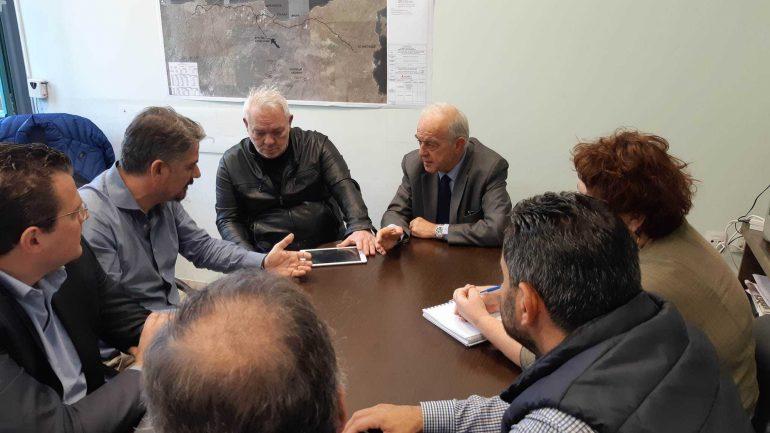 Επί τάπητος η συνεργασία για την εκμετάλλευση των γλυκών νερών του Αλμυρού