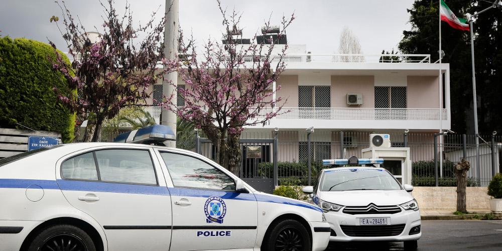 Συνελήφθη ο άνδρας που έκανε επίθεση με μαχαίρι έξω από την ιρανική πρεσβεία στην Αθήνα