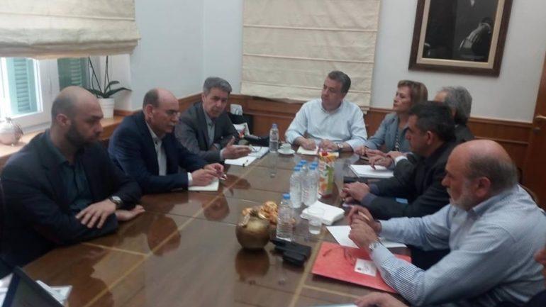 Επαφές του ΓΓ Αγροτικής Πολιτικής στο Ηράκλειο