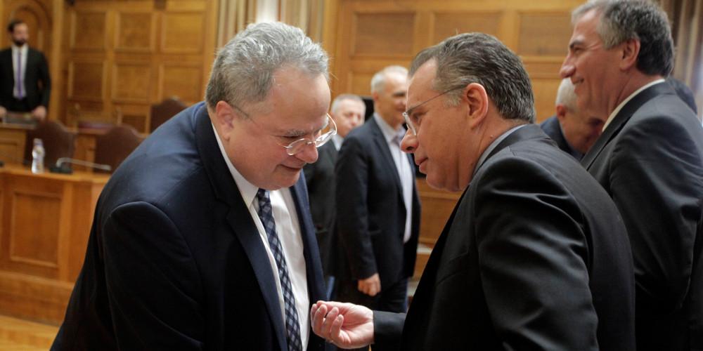 Σκοπιανό: Σφοδρή σύγκρουση κυβέρνησης-αντιπολίτευσης μετά τις δηλώσεις Ζάεφ