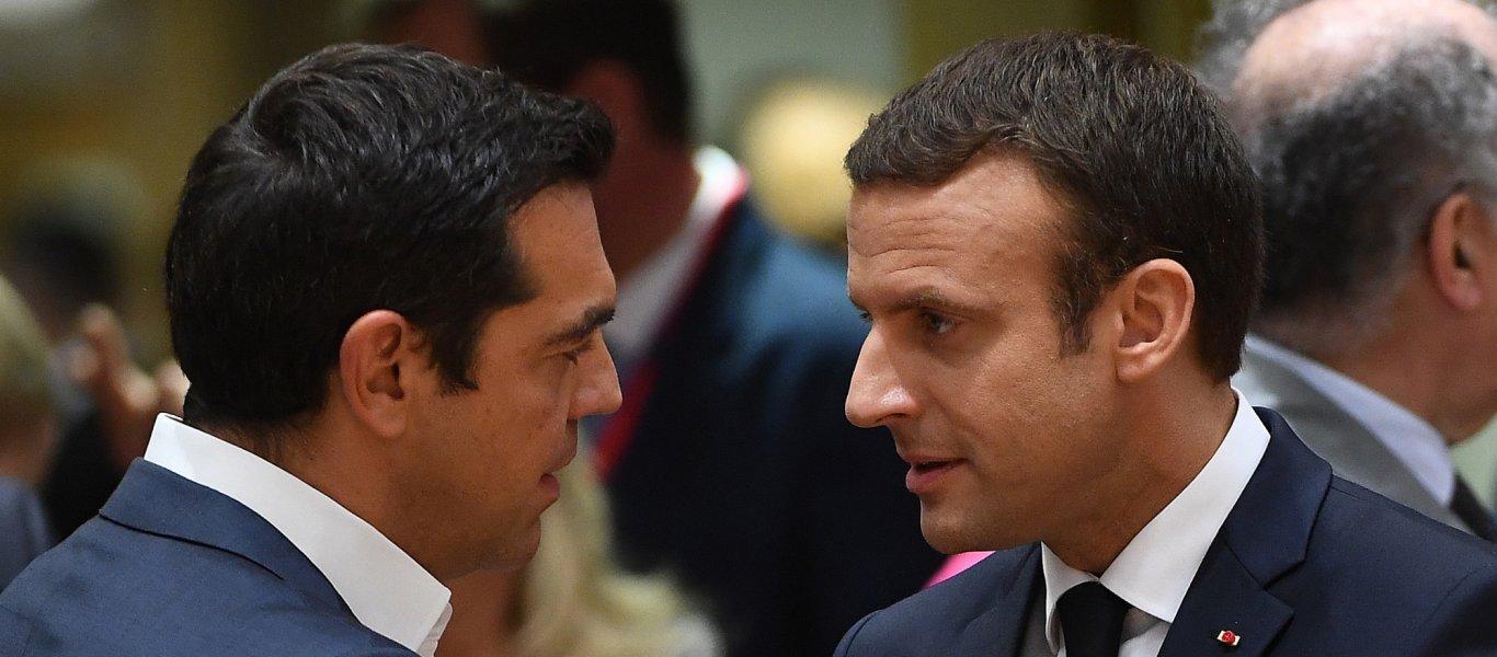 Εμ.Μακρόν: «H Γαλλία θα στηρίξει την Ελλάδα εάν απειληθεί από την Τουρκία»
