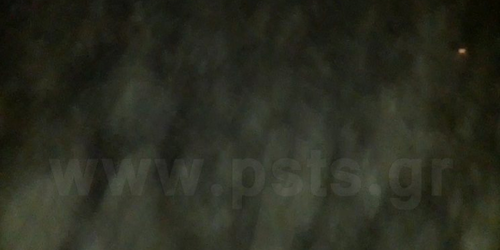 Εικόνες «θρίλερ» – Απόκοσμο καιρικό σκηνικό «εξαφάνισε» την Πάρο [βίντεο]