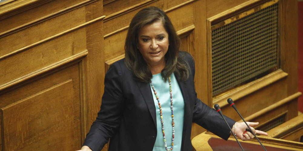 Μπακογιάννη: Επιβλαβής η διγλωσσία της κυβέρνησης στην εξωτερική πολιτική