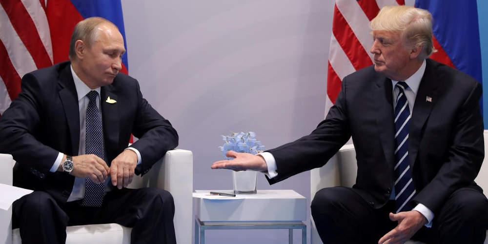 Πούτιν σε Τραμπ: «Εχουμε τις καλύτερες πόρνες στον κόσμο»