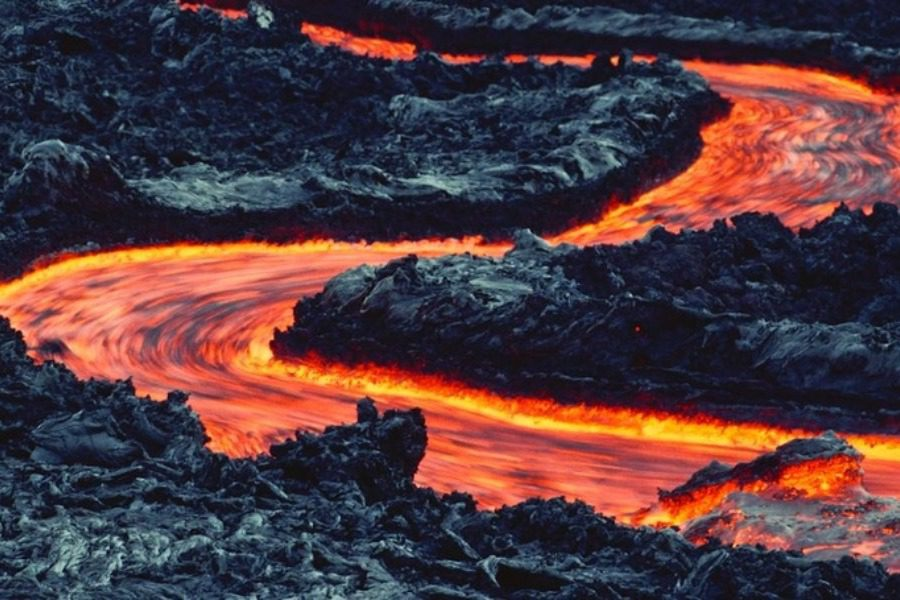 Τα επιβλητικά ηφαίστεια της Χαβάης