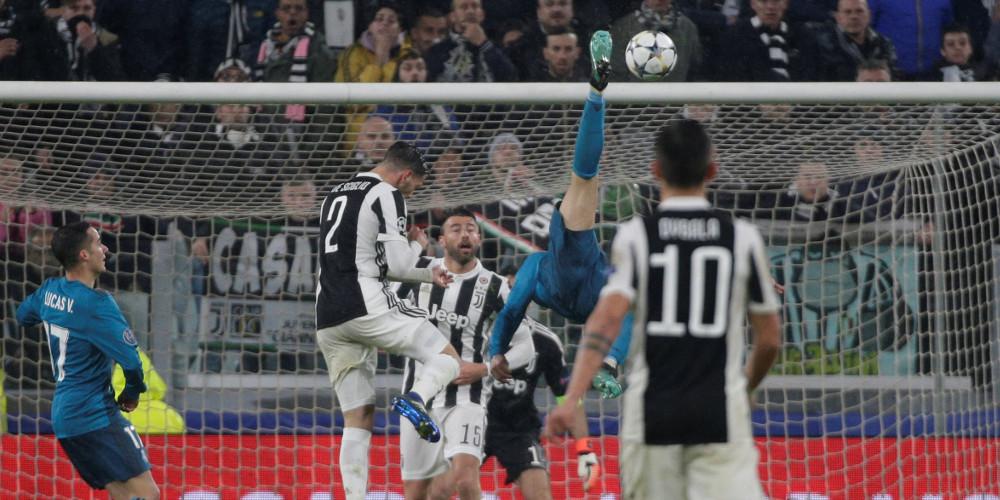 Στα 2.30μ. πήδηξε ο Ρονάλντο για να βάλει το γκολ του αιώνα [εικόνες]