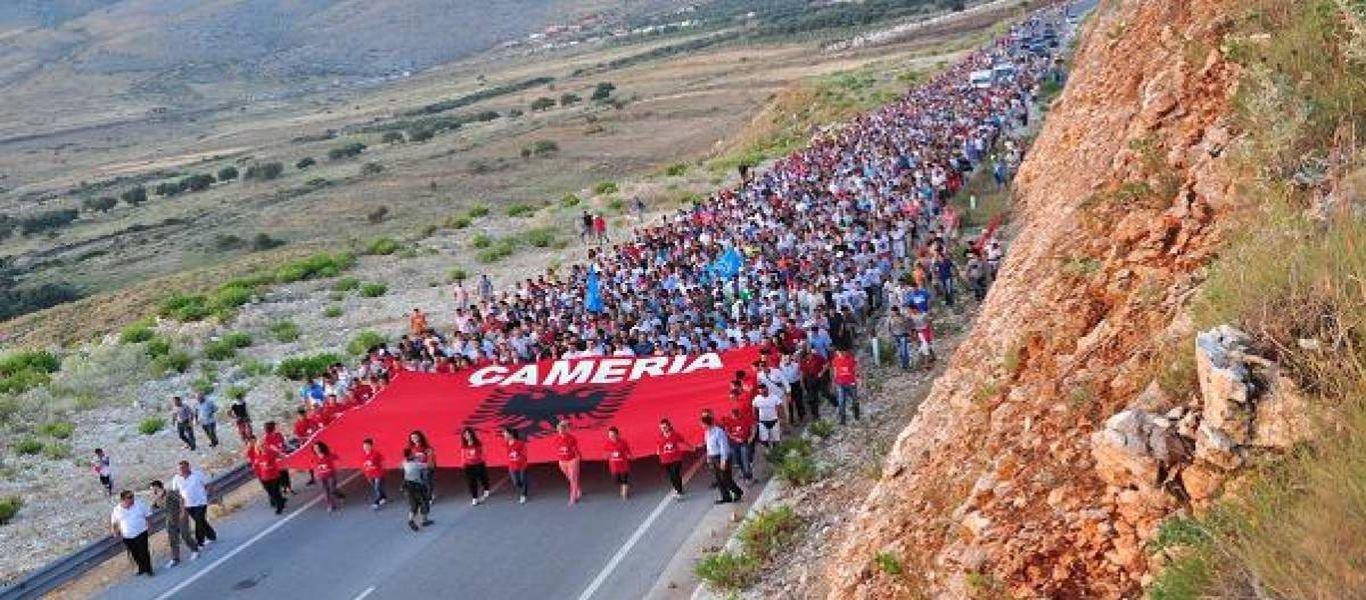 «Αρχισαν τα όργανα» και στην Αλβανία: Τσάμηδες διαδηλώνουν και ζητούν «Ιδρυση κράτους στη Νότια Ήπειρο»! (βίντεο)