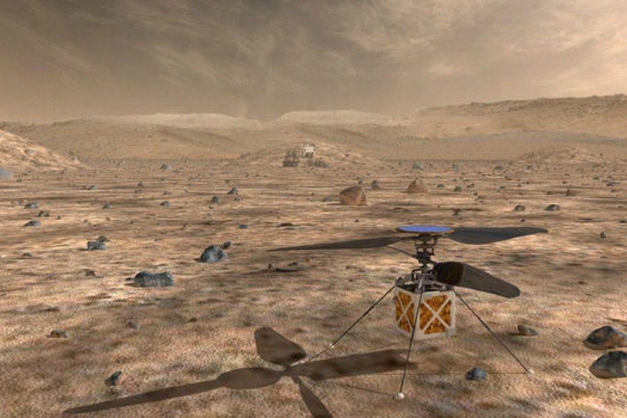 Αυτό το ελικόπτερο της NASA θα πετάξει πάνω από τον Αρη