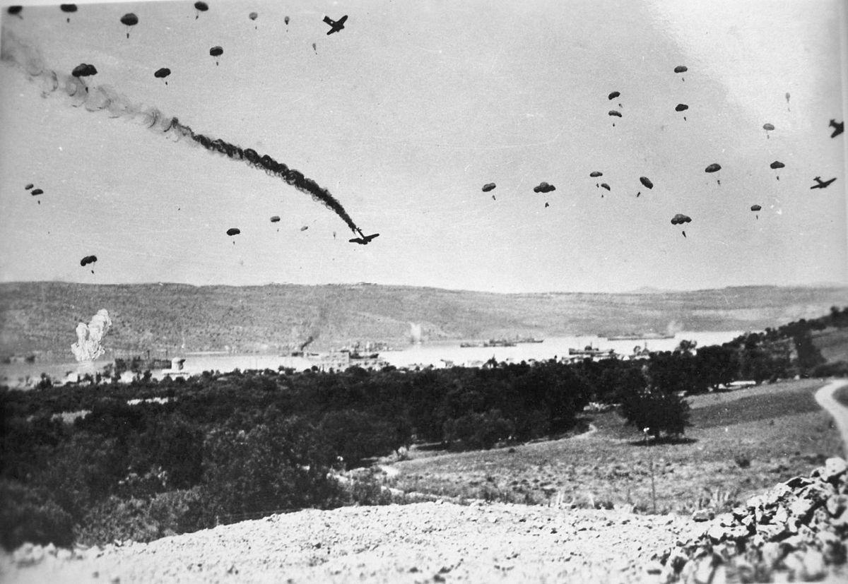 Το αεροδρόμιο θα καταληφθεί από τα γερμανικά στρατεύματα με βαρύτατες απώλειες