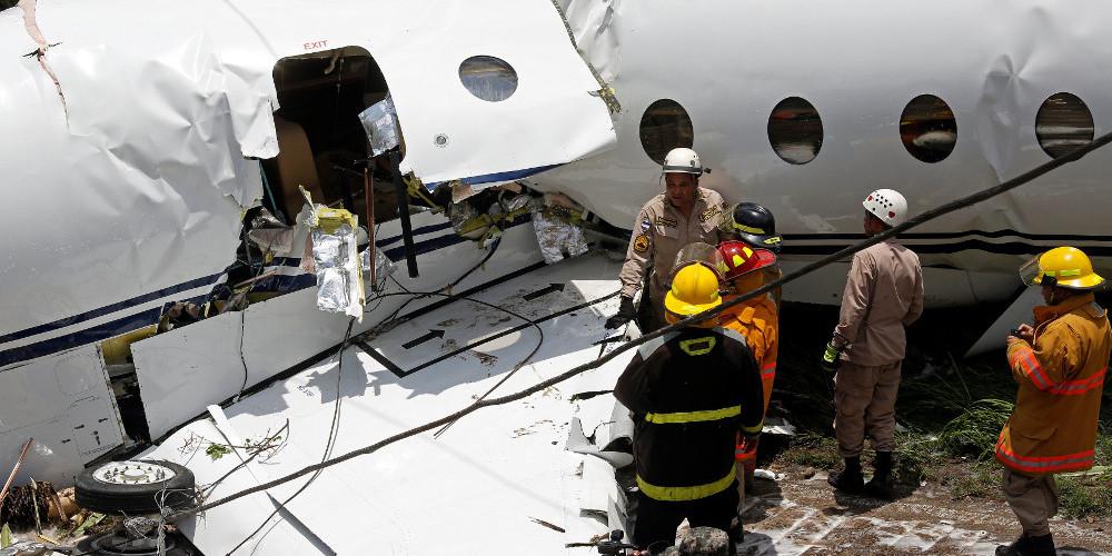 Διαλύθηκε αεροσκάφος κατά την διάρκεια αναγκαστικής προσγείωσης στην Ονδούρα