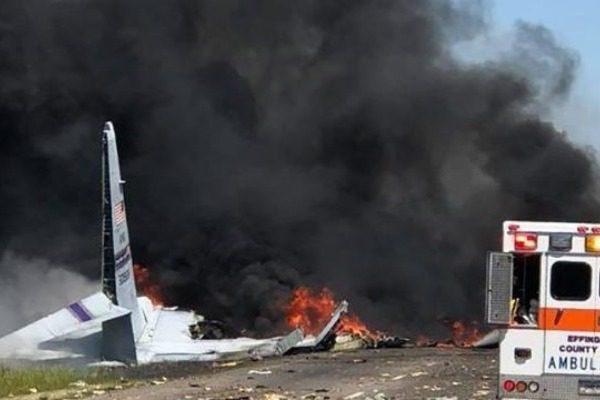 Τραγωδία στις ΗΠΑ: Συνετρίβη C‑130 στη Τζόρτζια