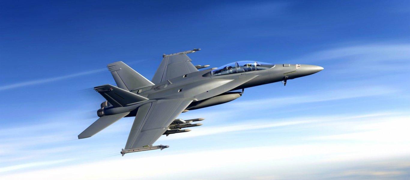 Σε «φονιά» μαχητικών stealth εξελίσσεται το νέο F/A-18E/F! – Θα μπορεί να τα εντοπίζει από πολύ μεγάλες αποστάσεις