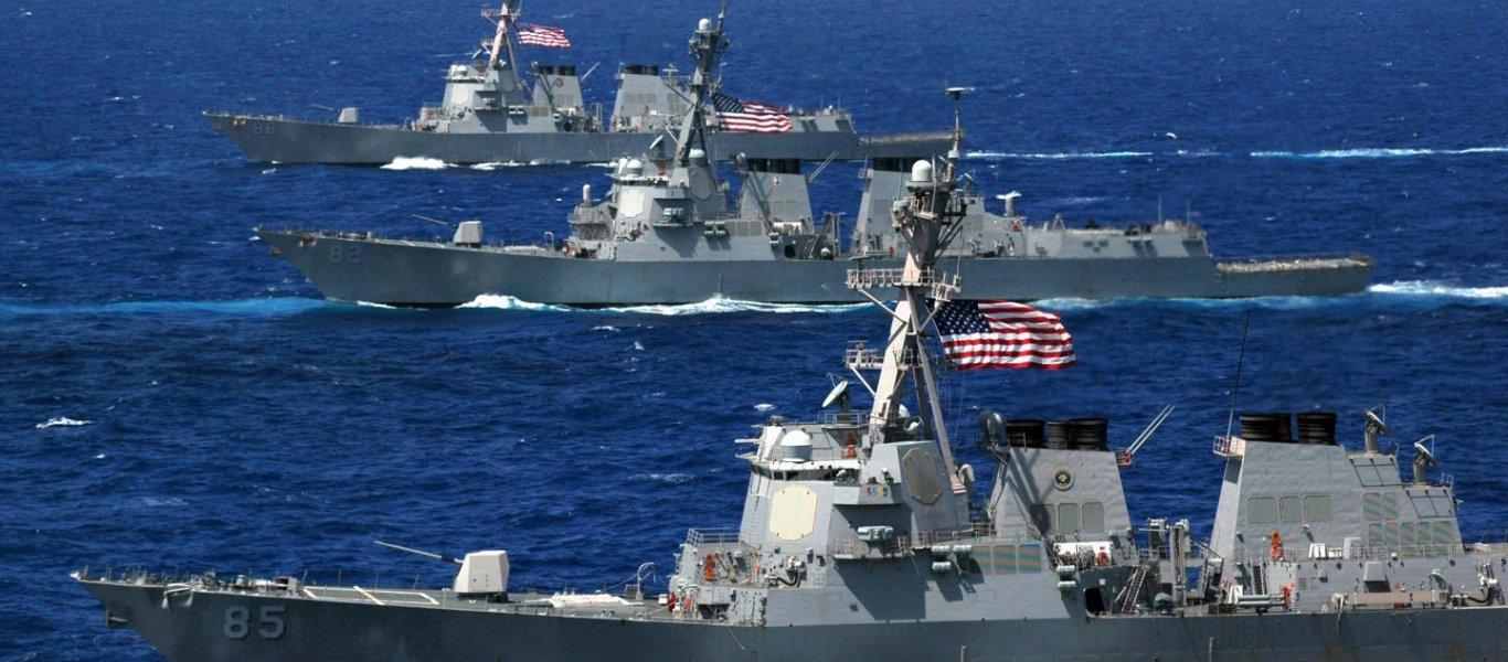 Επανενεργοποίηση του Δεύτερου Στόλου από τις ΗΠΑ ως αντίβαρο στην ρωσική παρουσία στον Ατλαντικό Ωκεανό (φωτό, βίντεο)