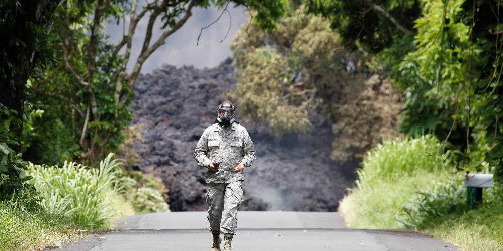 Η λάβα του Κιλαουέα φτάνει στον Ωκεανό – Εντυπωσιακό βίντεο από την Χαβάη