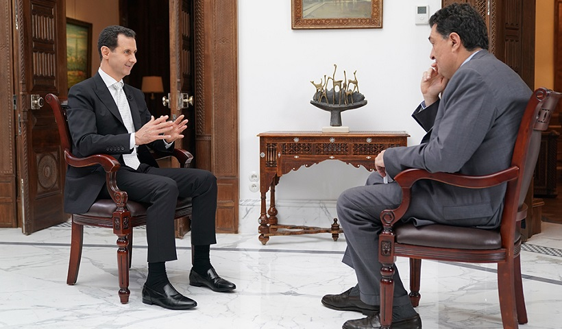 O Ασαντ «κονιορτοποίησε» τον Ερντογάν: «Στηρίζει τρομοκράτες, είναι με τη Μουσουλμανική Αδελφότητα» – Τι είπε για την Ελλάδα