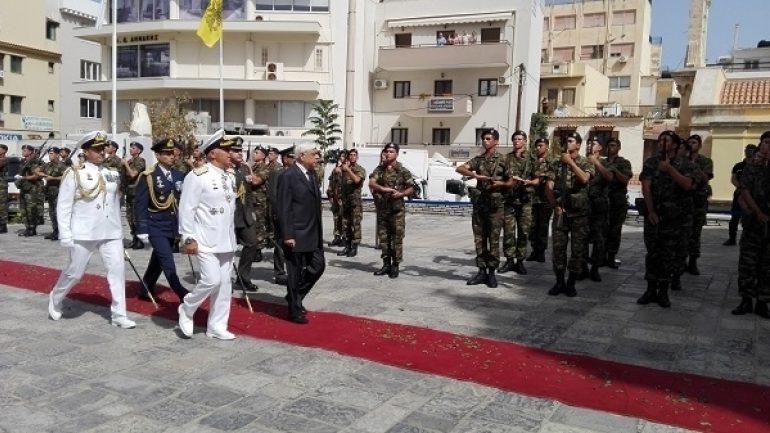Στην Κρήτη ο Πρόεδρος της Δημοκρατίας για την ιστορική Μάχη του Λασιθίου