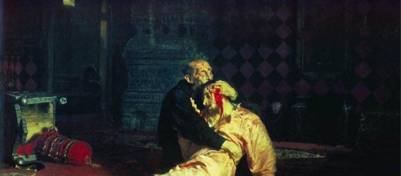 Ρωσία: Άγνωστος προκάλεσε ζημιές με μεταλλικό στύλο σε διάσημο πίνακα του Ιβάν του Τρομερού!