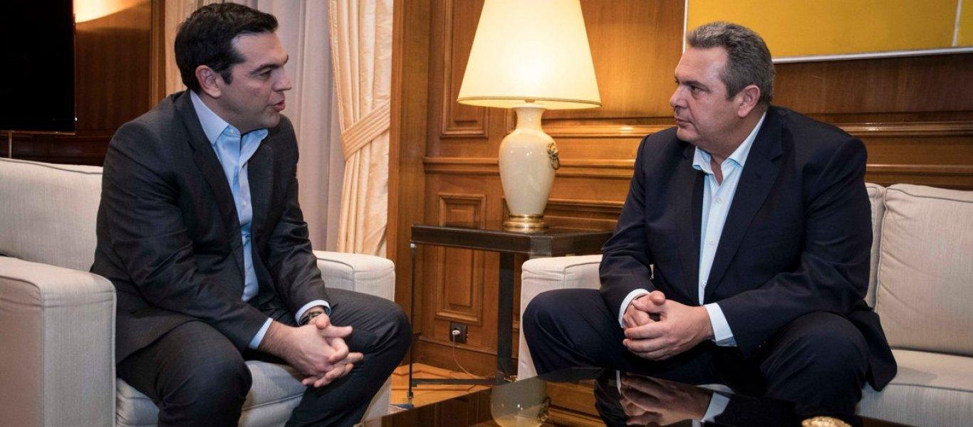 Eκτάκτως στο Μέγαρο Μαξίμου ο Πάνος Καμμένος: Για εκλογές ή για Τουρκία;