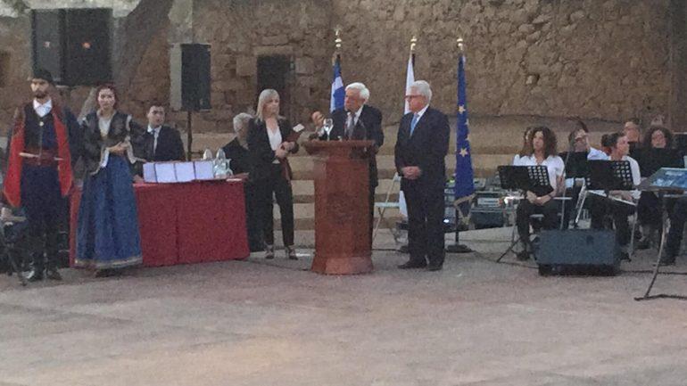 Στο Ρέθυμνο ο Πρόεδρος της Δημοκρατίας για τα 40 χρόνια του Πανεπιστημίου Κρήτης