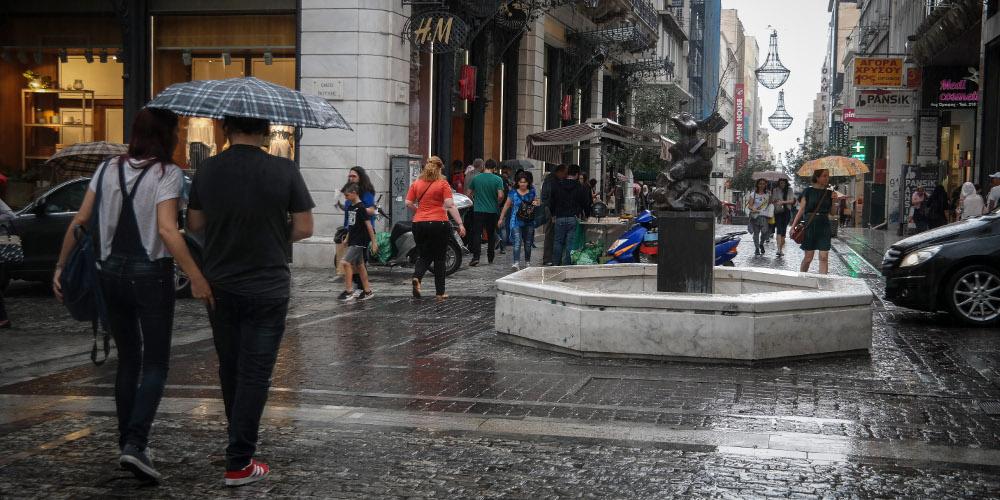 Πρόγνωση καιρού: Έντονα φαινόμενα «χτυπούν» και την Αττική – Ισχυρές βροχές σαρώνουν πολλές περιοχές