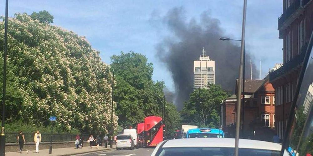 Φωτιά σε πεντάστερο ξενοδοχείο στο Λονδίνο