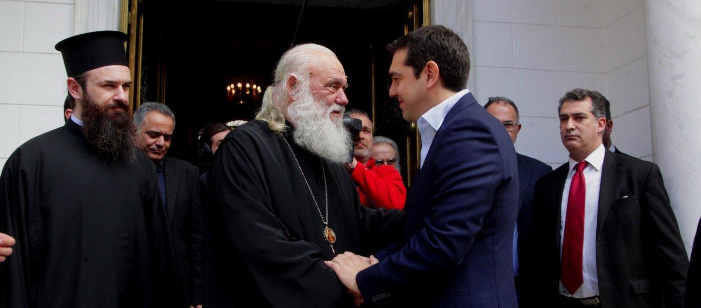 «Στα άκρα» σπρώχνει η κυβέρνηση τους πολίτες: Αγριος προπηλακισμός του Αρχιεπίσκοπου Ιερώνυμου από πιστούς (βίντεο)