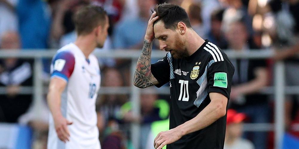 Μουντιάλ 2018: Μοιραίος Μέσι για την Αργεντινή, 1-1 με Ισλανδία [βίντεο]