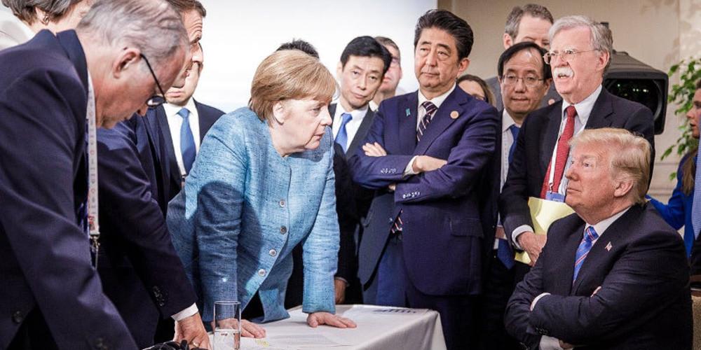 Επίθεση Μέρκελ στον Τραμπ: Ηταν προκλητικός στη G7