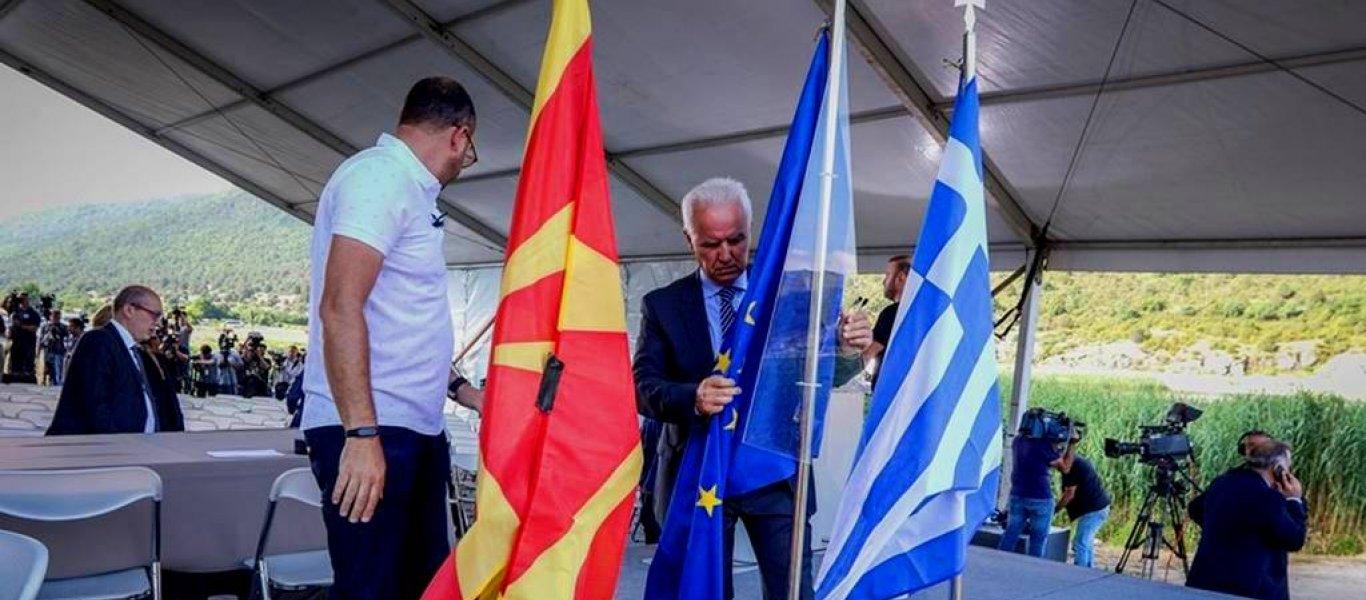 Δείτε live από τις Πρέσπες: Υπογράφεται από Τσίπρα-Σκόπια η συμφωνία εκχώρησης της Μακεδονίας στους Σκοπιανούς