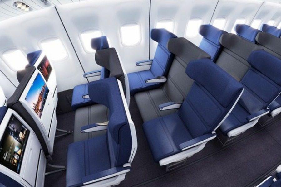 Σχεδιαστές έχουν μια επαναστατική ιδέα για το μεσαίο κάθισμα στα αεροπλάνα