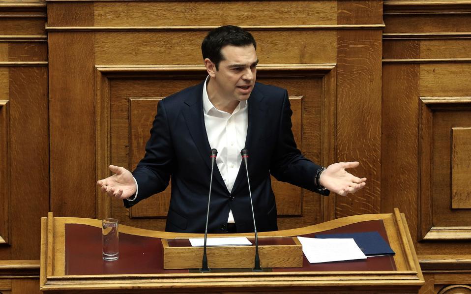 Διχαστικός και προκλητικός ο Α. Τσίπρας στη Βουλή: «Φασίστες όσοι συμμετέχουν στα συλλαλητήρια, εθνικιστές βγήκαν από τις κρυψώνες» – Υπερασπίστηκε ξανά την Α. Μέρκελ!