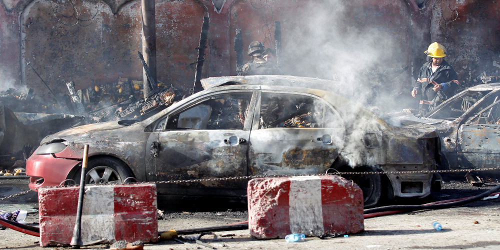 Τουλάχιστον 7 νεκροί σε επίθεση αυτοκτονίας κοντά σε υπουργείο στο Αφγανιστάν