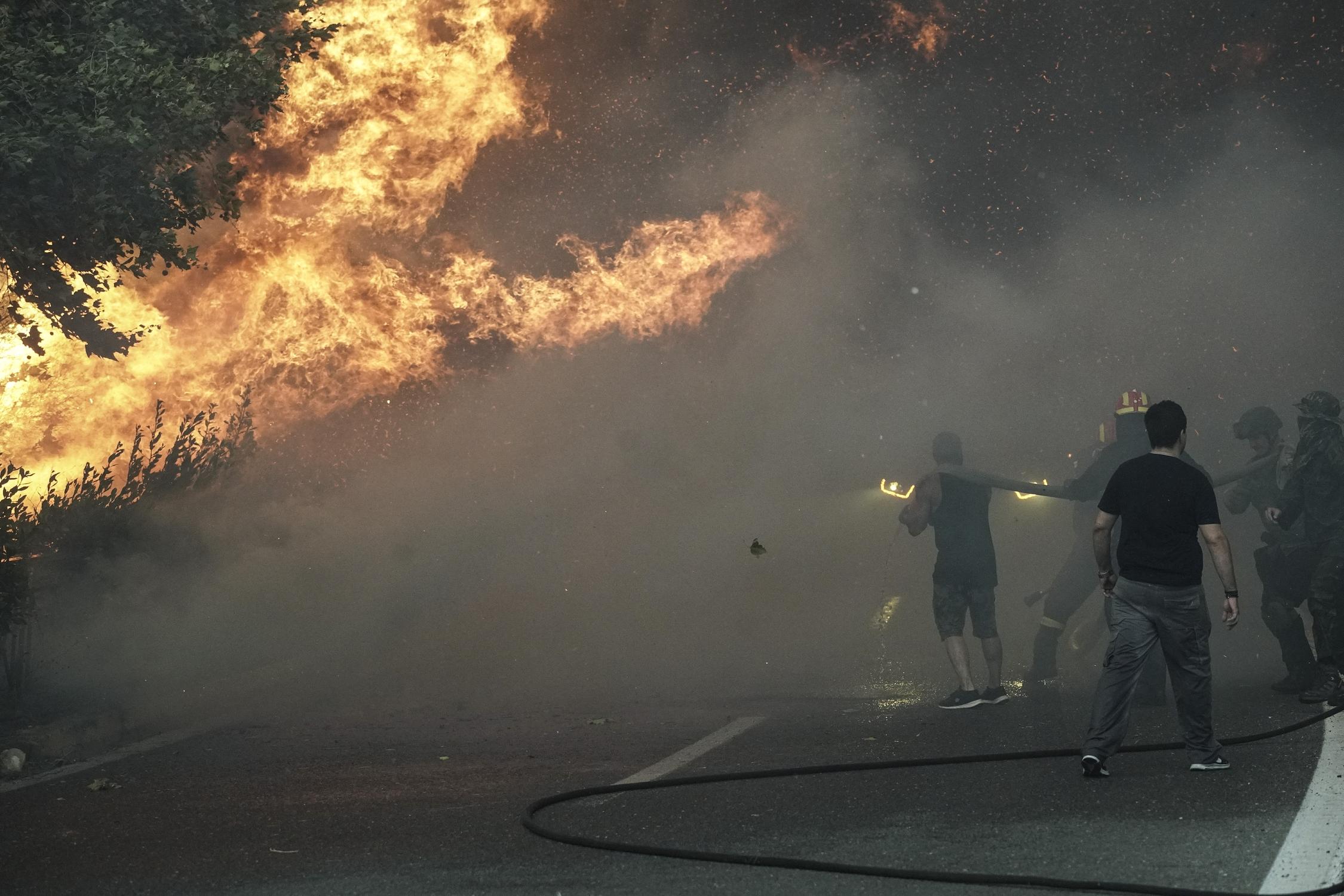 Φωτιά τώρα στη Σκεπαστή Ευβοίας – Συναγερμός στην Πυροσβεστική