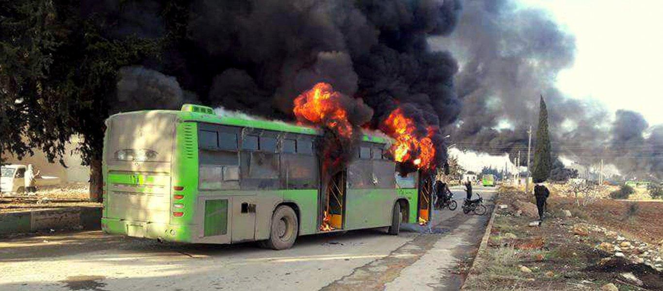 Βίντεο: Συντριπτικό κτύπημα του ΡΚΚ – Ανατινάσσει λεωφορείο γεμάτο με τουρκικές ειδικές δυνάμεις