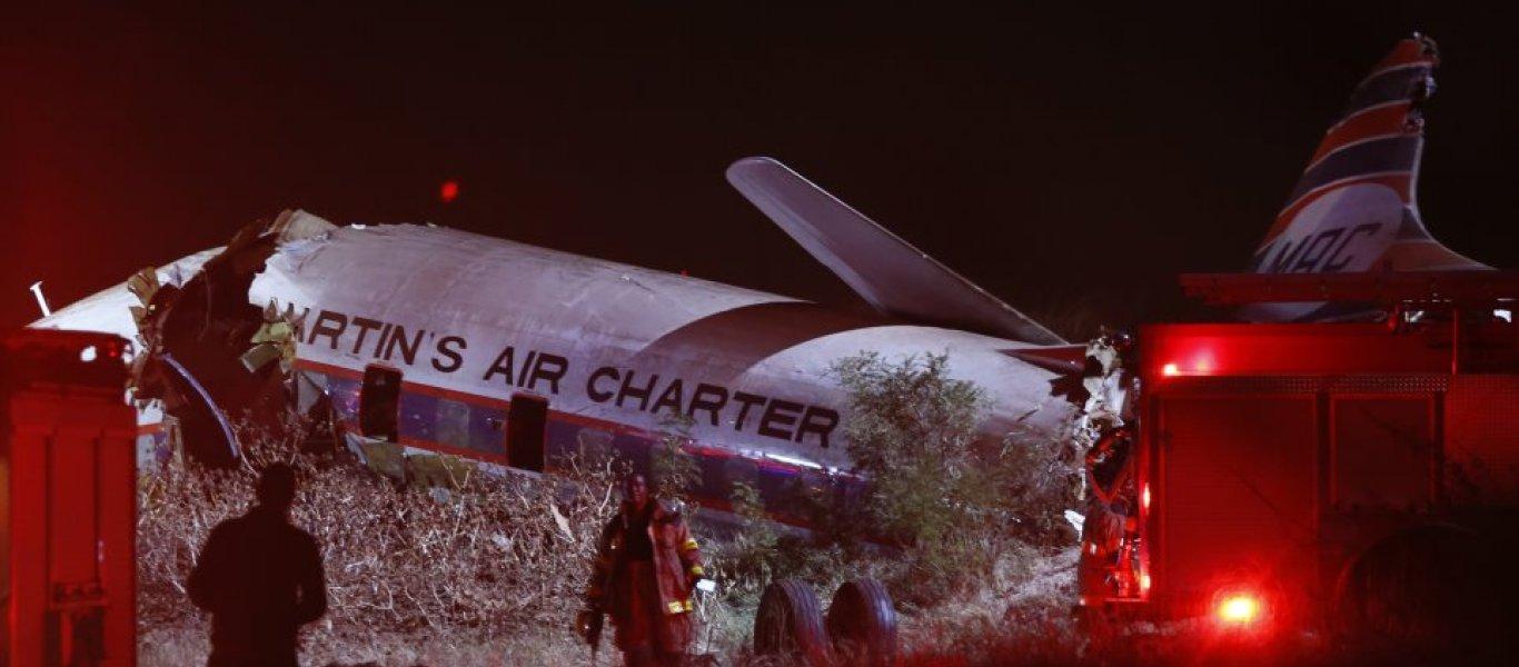 Βίντεο-σοκ από την συντριβή αεροσκάφους στη Νότια Αφρική: Τραβήχτηκε μέσα από την καμπίνα!